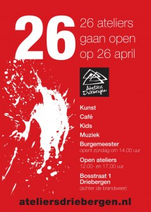 Poster opening Ateliers Driebergen 26-4 800px