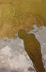 een nieuwe schepping (acryl op paneeltje 18x30 cm)